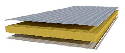 Структура стеновой сэндвич-панели