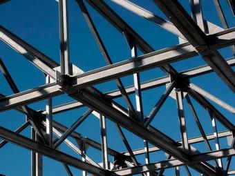 Металлоконструкции здания